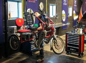Onderhoud en ombouw van uw Van Raam fiets