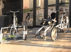 Huren van een Van Raam fiets