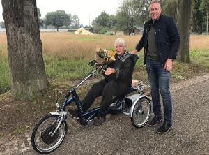 Verkoop van nieuwe en tweedehands Van Raam fietsen.